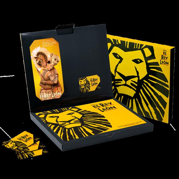 "Tarjeta regalo – Pack premium ""Tan especial como tú"""